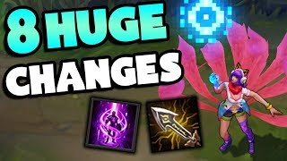 8 HUGE CHANGES Coming To League of Legends - YouTube