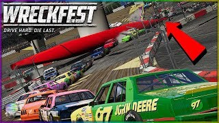One of the Craziest Figure 8's Ever | Wreckfest | NASCAR Legends Mod