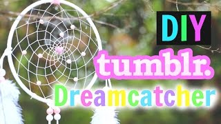 DIY Tumblr Dreamcatcher Tutorial! How To Make A Dreamcatcher!