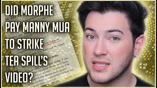 WAS MANNY MUA PAID OFF BY MORPHE? | JEFFREE STAR CLAPS BACK ON TWITTER