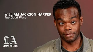 William Jackson Harper from 'The Good Place,' Emmy Contenders chats with the Los Angeles Times