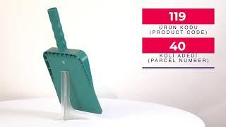 Plastic Plaster Shovel