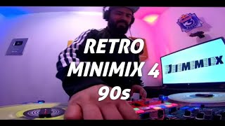 Retro Music MiniMix Parte 4 Dj Jimmix (Sin Cabezales Solo Usando #Phase tecnología inalámbrica)