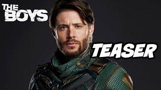 The Boys Season 3 First Look Teaser - Jensen Ackles Marvel Easter Eggs