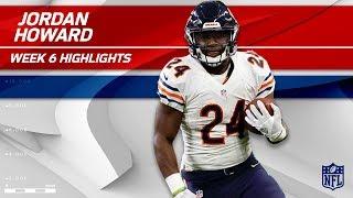 Jordan Howard's a Powerhouse w/ 36 Carries & 167 Yards 💪 | Bears vs. Ravens | Wk 6 Player Highlights