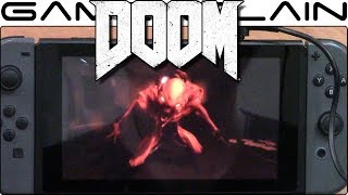 10 Minutes of DOOM on Nintendo Switch Gameplay + Hands-On Impressions