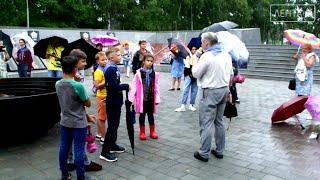 Экскурсия по достопримечательностям Артема прошла, несмотря на дождь