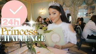24 hour overnight challenge as a princess