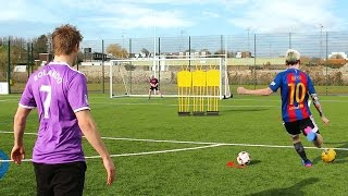 MESSI vs RONALDO FOOTBALL CHALLENGES
