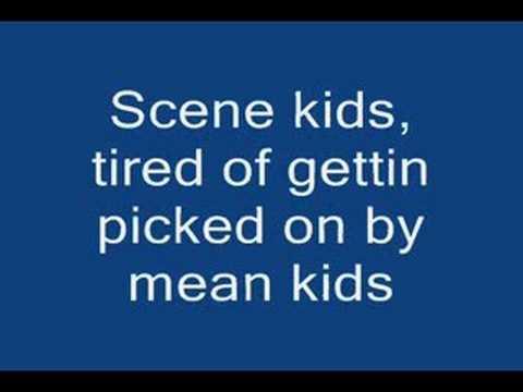 Hollywood Undead Scene for Dummies LYRICS!!!!