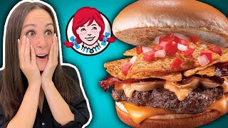 Wendy's in the Philippines 🇵🇭// Fried Chicken, Taco Burger, Shrimp, Spaghetti, Lumpia, etc.