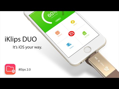 iKlips DUO : Manage iOS your way.