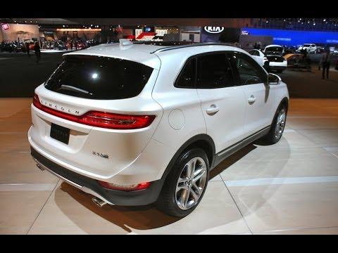 2015 Lincoln MKC Debuts At LA Auto Show