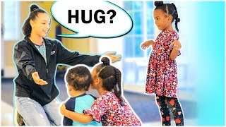 STRANGERS HUG OUR KIDS! SOCIAL EXPERIMENT