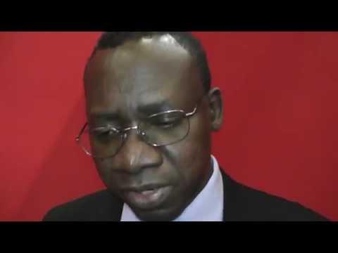 Alioune Fall, directeur général de l'ISRA, fait le point des recherches agronomiques en cours au Sénégal