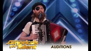 The Judges HATE Him But FUNNY Guy Wins Over The Crowd!   America's Got Talent 2018