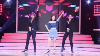 HTV Vì yêu mà đến - Các cô gái thể hiện vũ đạo ấn tượng