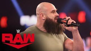 Braun Strowman demands a WWE Championship Match: Raw, Feb. 22, 2021