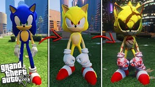 The EVIL SUPER SONIC the Hedgehog (GTA 5 Mods)
