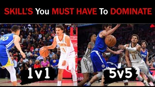 1v1 vs 5v5 Basketball : Difference's & Skills You NEED | Basketball Scoring Tips