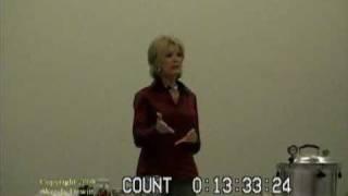 Wendy Dewitt -- Food Storage Seminar, Part 2 of 9.