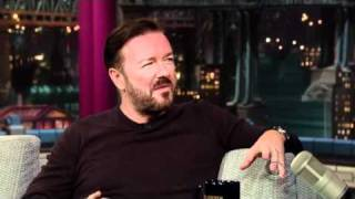 Ricky Gervais on David Letterman 2nd August 2011