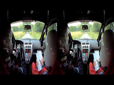 Rally Honda Civic TypeR Karel Pohner 2011 onboard hilites | 3D