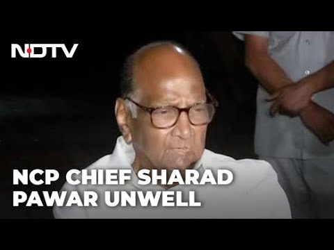 Sharad Pawar unwell, will be hospitalised on Wednesday for surgery: NCP
