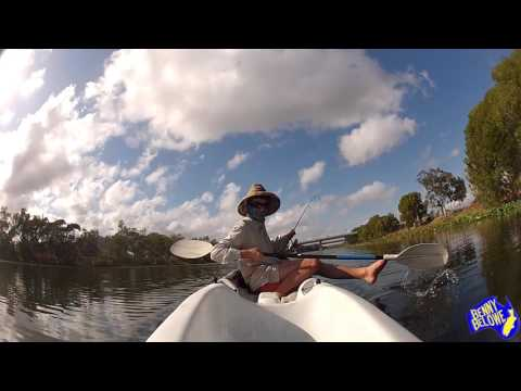 Barramundi Fishing Townsville - A couple of sessions in the kayak