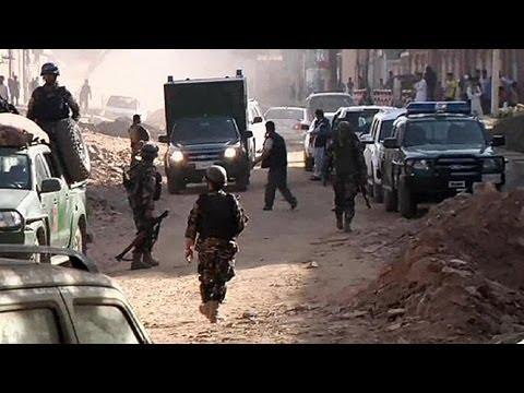 حمله طالبان به کاخ ریاست جمهوری افغانستان در کابل