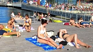 Norway Travel: There's a Beach Scene in Oslo??