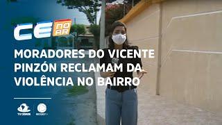Moradores do Vicente Pinzón reclamam da violência no bairro