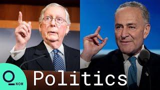 U.S. Senate Passes Biden's $1.9 Trillion Covid-19 Relief Bill; Schumer and McConnell Address Senate