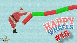 SANTA ROPE SWING! | Happy Wheels - Part 16