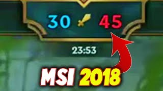 That TROLL GAME At MSI 2018