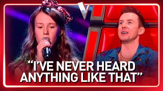 12-Year-Old sounds like a OLD SOUL SINGER in The Voice Kids | Journey #52