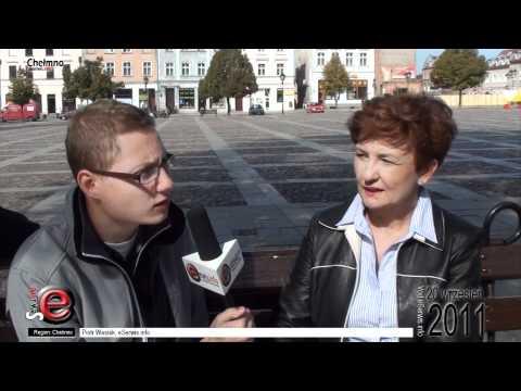 Iwona Michałek - kampania wyborcza w Chełmnie