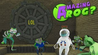 ZOMBIES IN SEWER?! - Amazing Frog Gameplay - Fallout Vault Secret Lab & Sewer!