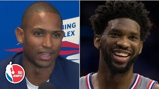Al Horford can't wait to play alongside Joel Embiid on the 76ers   2019 NBA Free Agency