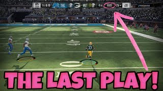 LEAD CHANGES UNTIL THE END... AND THEN THIS HAPPENED | Madden 18 RTE