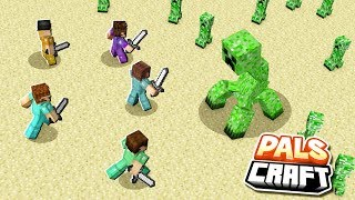 ULTIMATE BOSS FIGHT SURVIVAL CHALLENGE! | PalsCraft #12