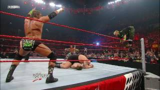 DX & Hornswoggle vs. Big Show, The Miz & Raw guest host Jon