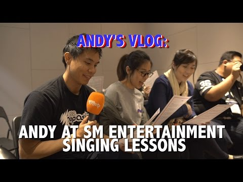 Andy's Vlog: Singing lessons at SM Entertainment