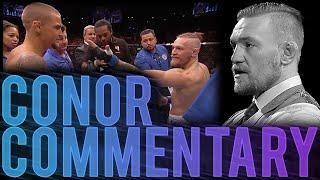 Conor McGregor Commentates Dustin Poirier Fight
