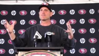 Jim Harbaugh loves Colin Kaepernick's Beats commercial