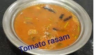 Tomato Rasam//how to make tomato rasam\\Andhra Style Tomato Rasam\\shrinidhi,s kitchen
