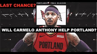 Carmelo Anthony Signs With Portland Trail Blazers: Can He Revive His NBA Career?
