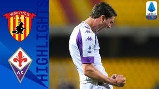 Benevento 1-4 Fiorentina | Vlahovic First-Half Hat-Trick Sinks Benevento | Serie A TIM