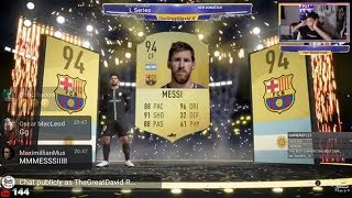 OMG I PACKED MESSI !! FIFA 19