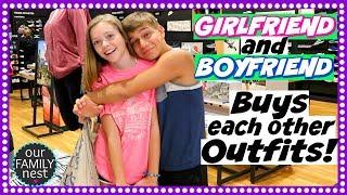 BOYFRIEND & GIRLFRIEND BUY EACH OTHER BACK TO SCHOOL OUTFITS!